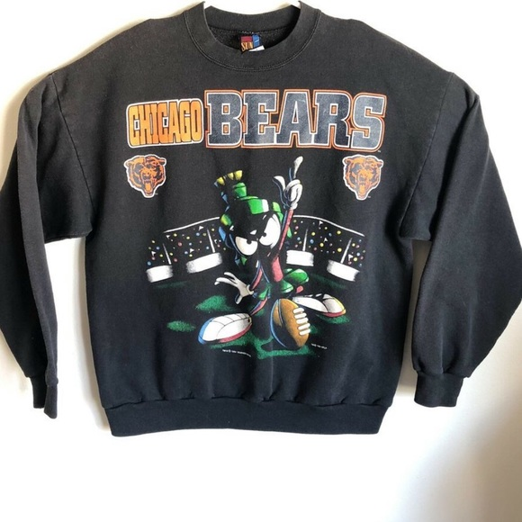 Warner Bros. Other - 1994 Chicago Bears Marvin The Martian Sweatershirt